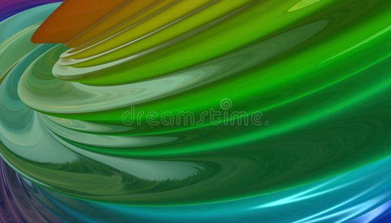 Χρωματισμένο περίληψη υπόβαθρο με την επίδραση bokeh διανυσματική απεικόνιση