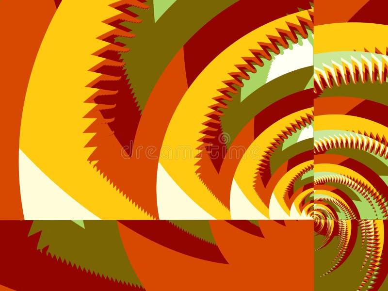 χρωματισμένο πριόνι τρία απεικόνιση αποθεμάτων