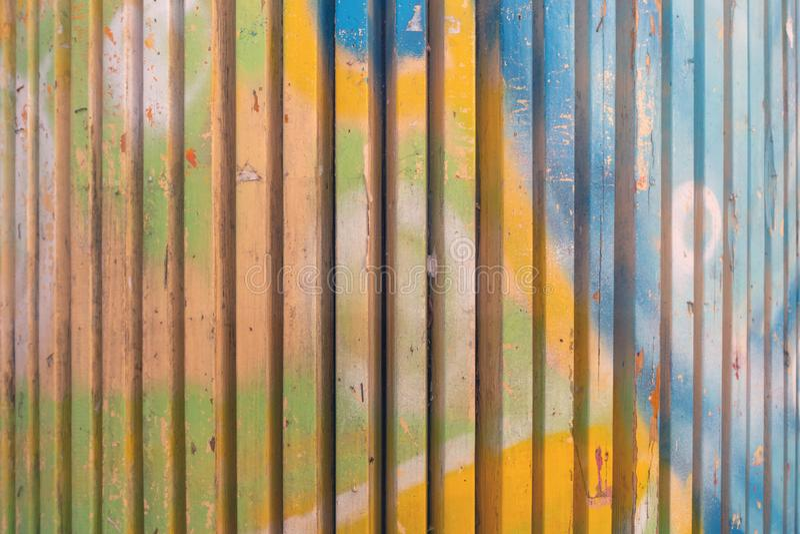 Χρωματισμένο υπόβαθρο σανίδων στοκ φωτογραφίες