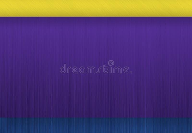 Χρωματισμένο υπόβαθρο σύστασης μετάλλων διανυσματική απεικόνιση