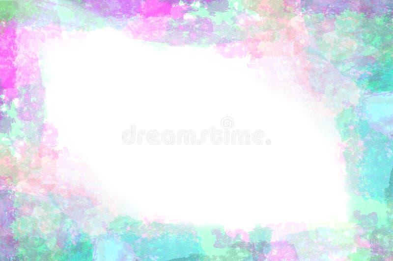 χρωματισμένο watercolor ανασκόπηση ελεύθερη απεικόνιση δικαιώματος