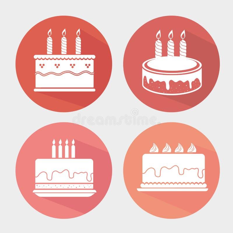 Download Χρόνια πολλά ζωηρόχρωμη κάρτα Διανυσματική απεικόνιση - εικονογραφία από σύμβολο, στοιχείο: 62701846