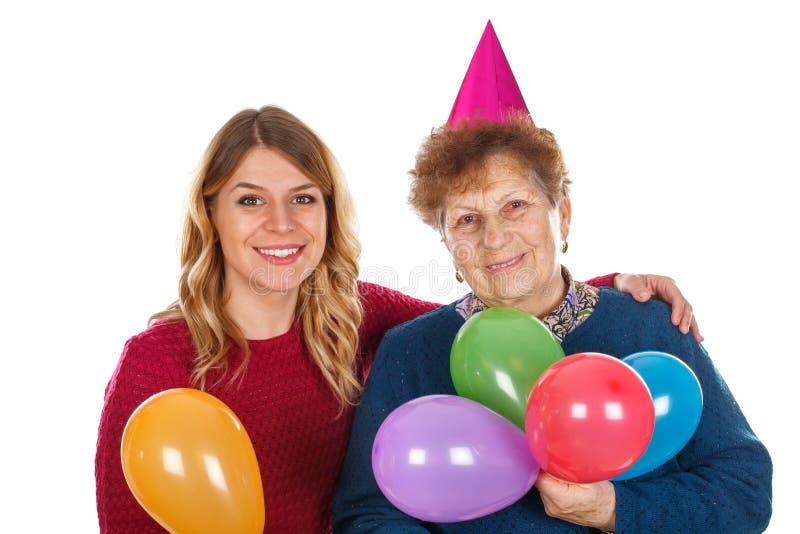 Χρόνια πολλά, Grandma στοκ φωτογραφία με δικαίωμα ελεύθερης χρήσης
