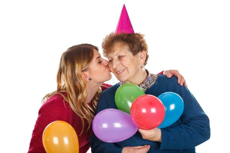 Χρόνια πολλά, Grandma στοκ εικόνα