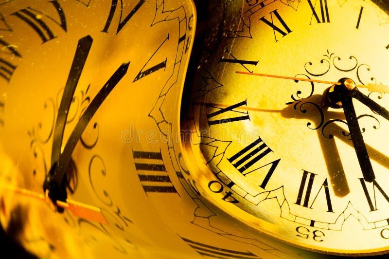 χρόνος έννοιας απεικόνιση αποθεμάτων