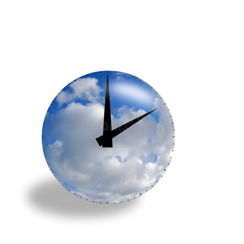 χρόνος έννοιας διανυσματική απεικόνιση