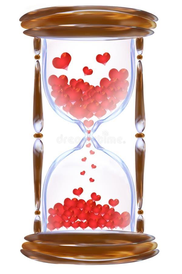 χρόνος αγάπης διανυσματική απεικόνιση