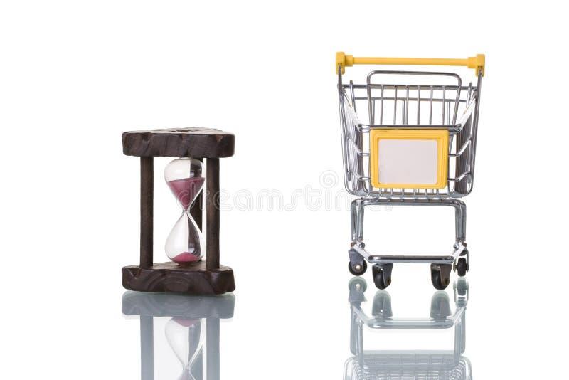 χρόνος αγοράς στοκ φωτογραφία