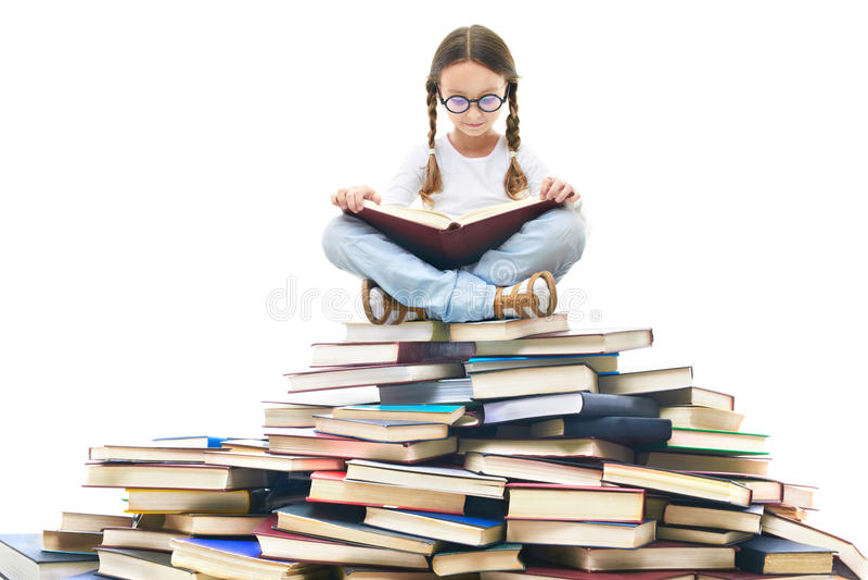χρόνος ανάγνωσης στοκ εικόνες με δικαίωμα ελεύθερης χρήσης