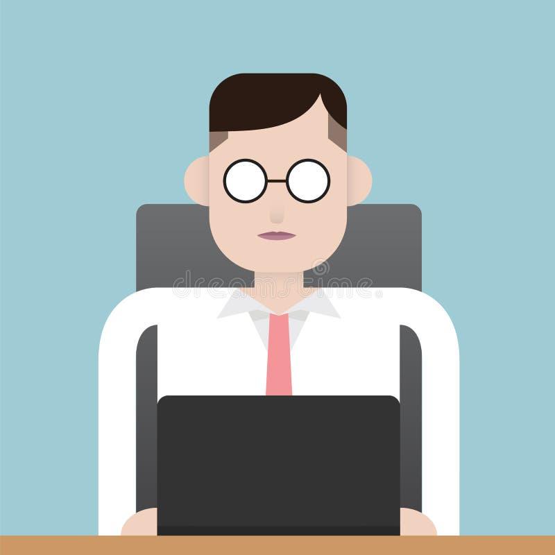 Χρόνος απασχόλησης απεικόνιση αποθεμάτων