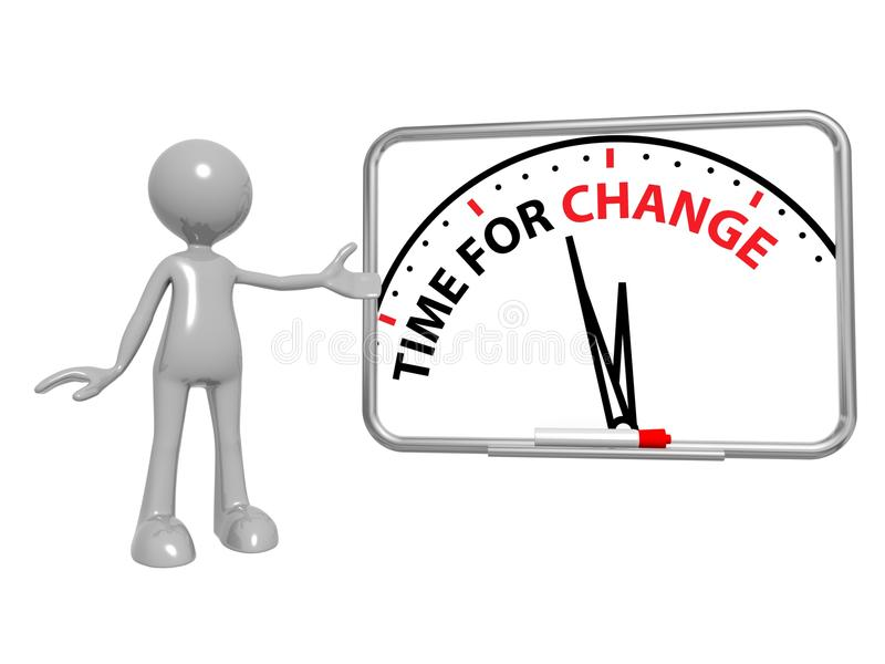 χρόνος αλλαγής ελεύθερη απεικόνιση δικαιώματος
