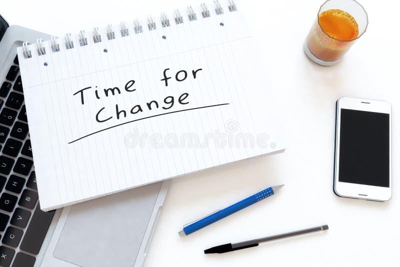 Χρόνος για την αλλαγή ελεύθερη απεικόνιση δικαιώματος