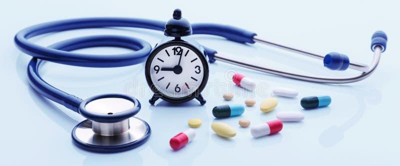 Χρόνος για την εξέταση υγείας στοκ εικόνες με δικαίωμα ελεύθερης χρήσης