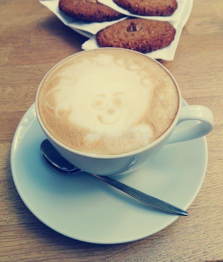 Χρόνος για τον καφέ στοκ εικόνα