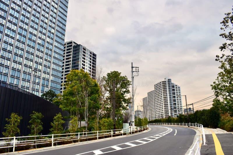 Χρόνος ηλιοβασιλέματος της περιοχής Shinjuku, πόλη του Τόκιο, Ιαπωνία στοκ φωτογραφίες με δικαίωμα ελεύθερης χρήσης