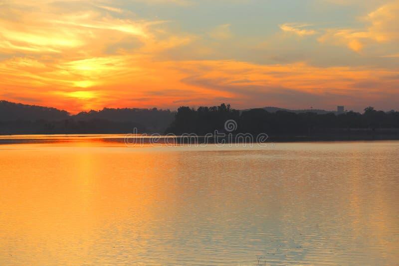 χρόνος ηλιοβασιλέματος απόμακρων πιθανοτήτων έκθεσης στοκ εικόνες με δικαίωμα ελεύθερης χρήσης