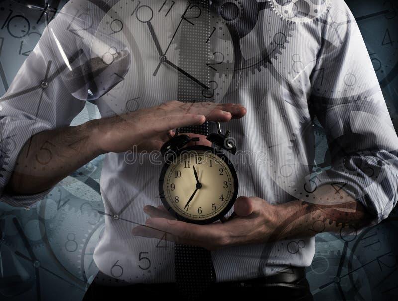 Χρόνος και ξυπνητήρι στοκ φωτογραφία με δικαίωμα ελεύθερης χρήσης