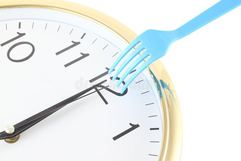 χρόνος μεσημεριανού γεύμ&alph στοκ φωτογραφίες