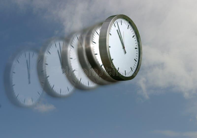 χρόνος μυγών στοκ εικόνες με δικαίωμα ελεύθερης χρήσης