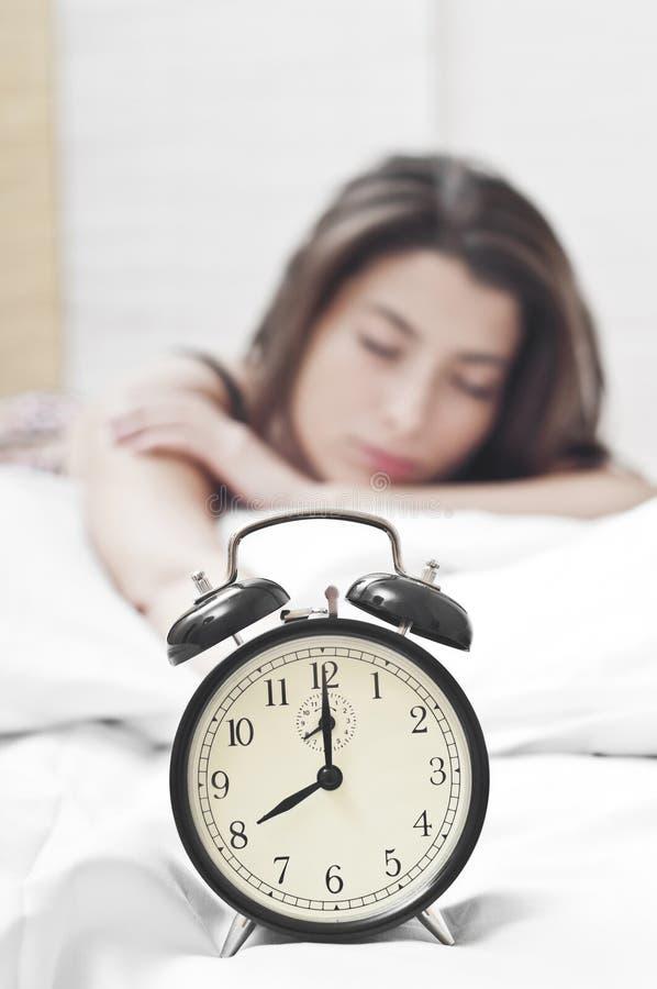 χρόνος να ξυπνήσει στοκ εικόνα με δικαίωμα ελεύθερης χρήσης