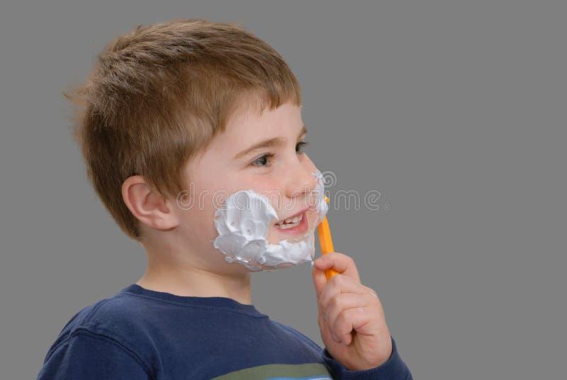 χρόνος ξυρίσματος στοκ φωτογραφία με δικαίωμα ελεύθερης χρήσης