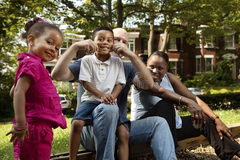 χρόνος οικογενειακών πάρ& στοκ φωτογραφίες με δικαίωμα ελεύθερης χρήσης