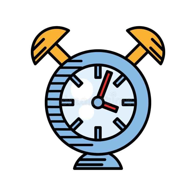 χρόνος ρολογιών συναγερμών ρολογιών ελεύθερη απεικόνιση δικαιώματος