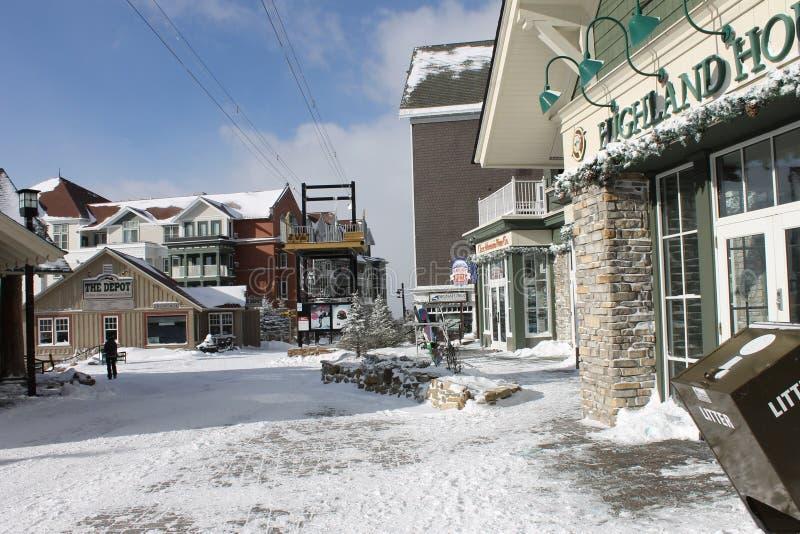 Χρόνος σκι στοκ φωτογραφίες με δικαίωμα ελεύθερης χρήσης