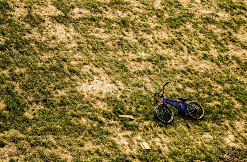 Χρόνος σπασιμάτων BMX στοκ εικόνα