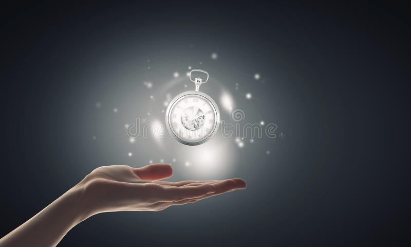 Χρόνος στα χέρια μας στοκ φωτογραφία με δικαίωμα ελεύθερης χρήσης
