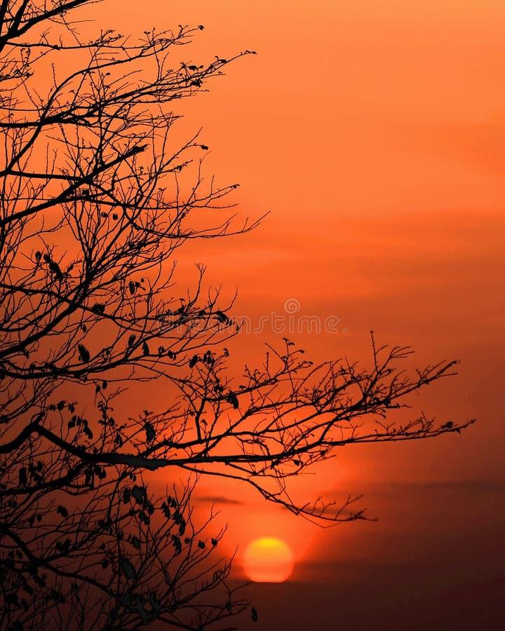 Χρόνος στο ηλιοβασίλεμα στοκ εικόνες με δικαίωμα ελεύθερης χρήσης