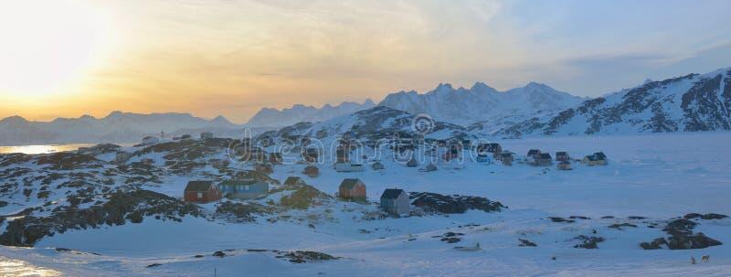 Χρόνος τοπίων της Γροιλανδίας την άνοιξη στοκ εικόνες με δικαίωμα ελεύθερης χρήσης