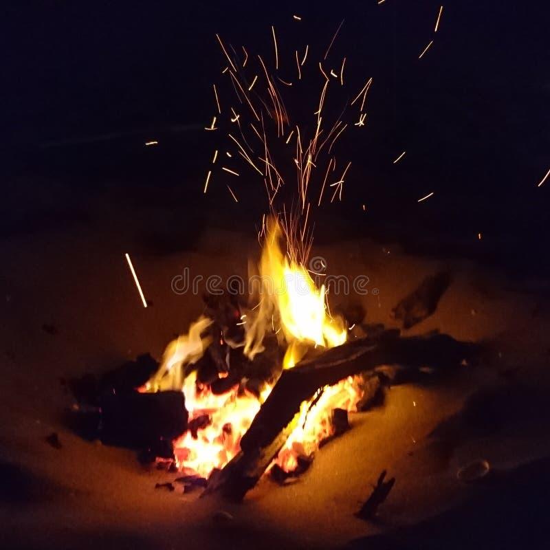 Χρόνος φωτιών στοκ εικόνες