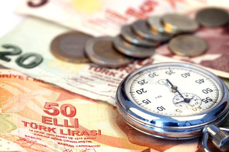 χρόνος χρημάτων έννοιας στοκ εικόνες