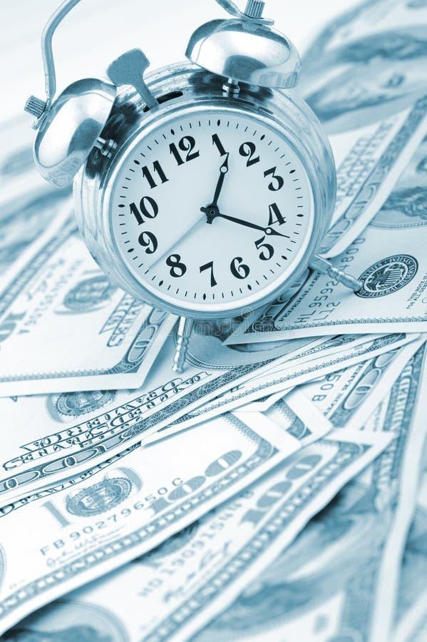 χρόνος χρημάτων επιχειρησ&io στοκ εικόνες