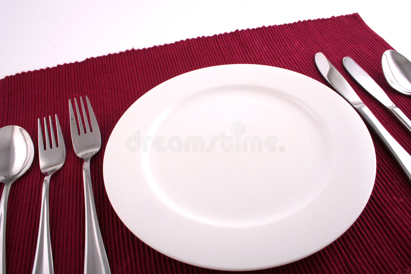 χρόνος 3 γευμάτων στοκ εικόνα