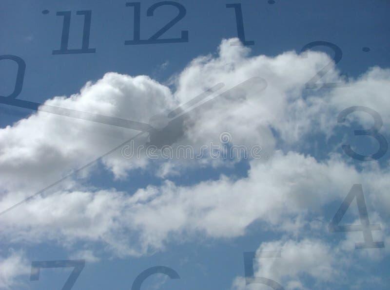 Download χρόνος στοκ εικόνα. εικόνα από επιχείρηση, πρόσωπο, ουρανός - 391153
