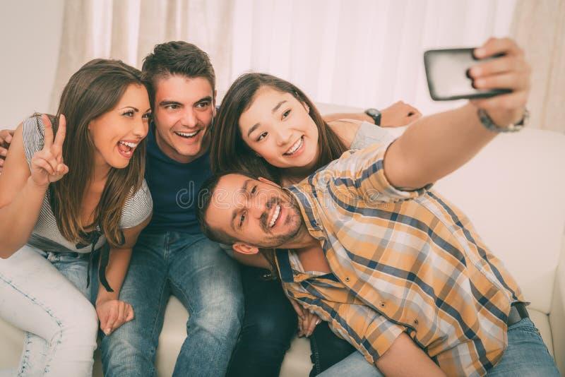 Χρόνος Selfie στοκ εικόνες