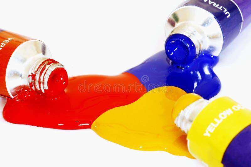 χρώματα αρχικά στοκ φωτογραφίες
