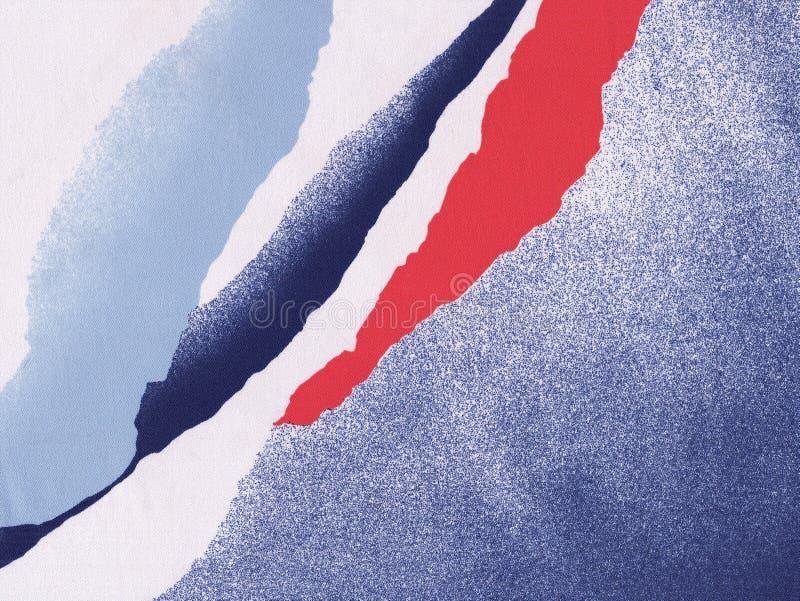 χρώματα Γαλλία ανασκόπηση& διανυσματική απεικόνιση