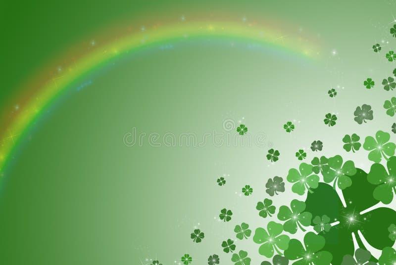 χρώματα ιρλανδικά ελεύθερη απεικόνιση δικαιώματος