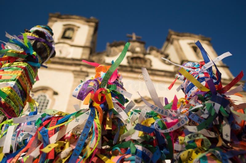 Χρώματα στην εκκλησία στοκ εικόνα με δικαίωμα ελεύθερης χρήσης