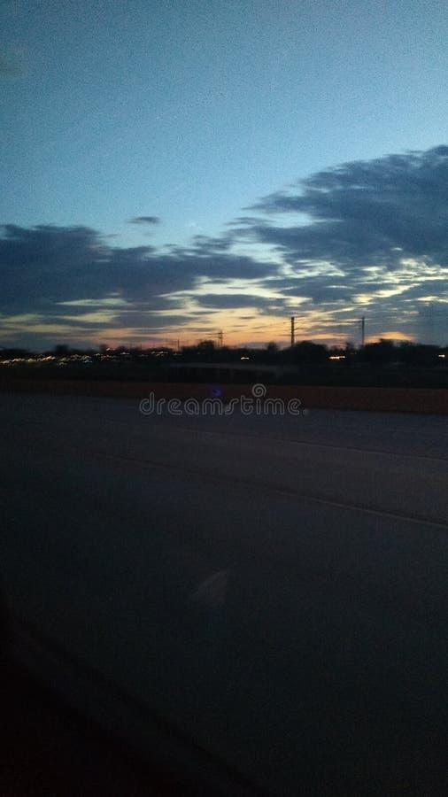 Χρώματα στον ουρανό στοκ εικόνες με δικαίωμα ελεύθερης χρήσης