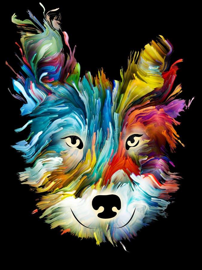 Χρώματα της αγάπης ελεύθερη απεικόνιση δικαιώματος