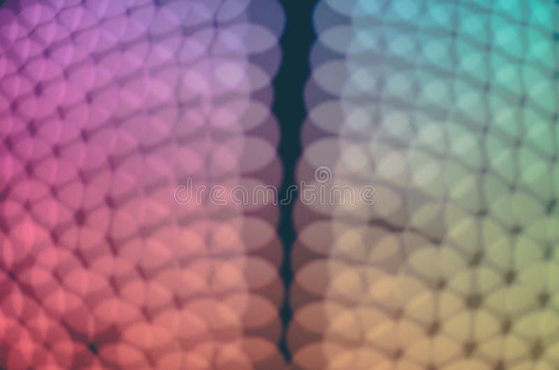 Χρώματα της ελαφριάς νύχτας bokeh και του θολωμένου υποβάθρου στοκ εικόνες