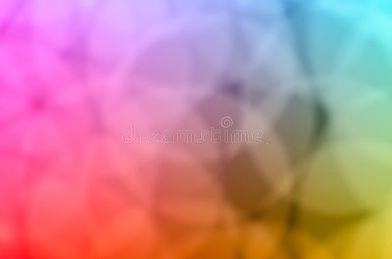 Χρώματα της ελαφριάς νύχτας bokeh και του θολωμένου υποβάθρου στοκ φωτογραφίες με δικαίωμα ελεύθερης χρήσης