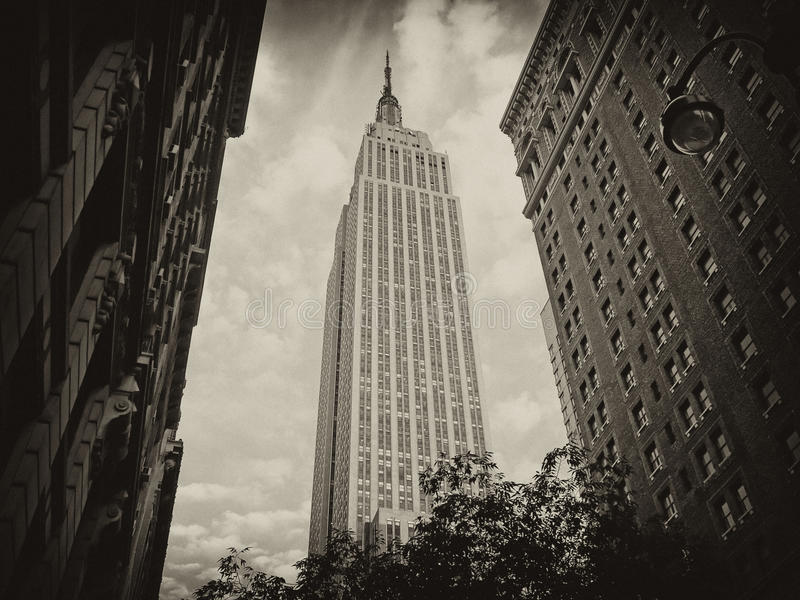 Χρώματα του Εmpire State Building στοκ εικόνες