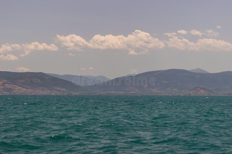 Χρώματα του ουρανού θάλασσας θάλασσας στοκ εικόνες με δικαίωμα ελεύθερης χρήσης