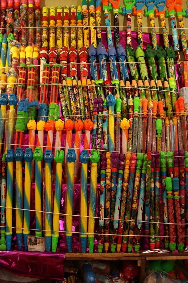 Χρώματα του φεστιβάλ Holi στην Ινδία στοκ φωτογραφία