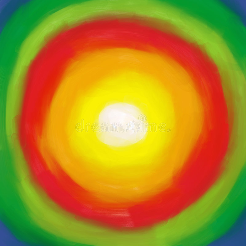 χρώματα απεικόνιση αποθεμάτων